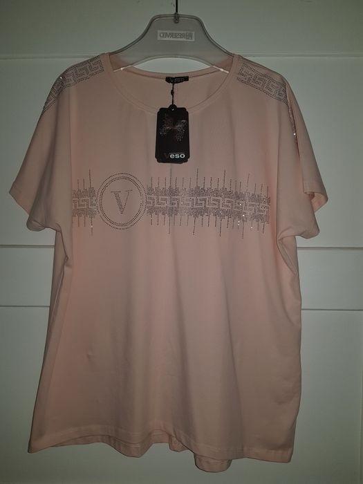 Bluzka koszulka różowa 44 Nowa Krajenka - image 1