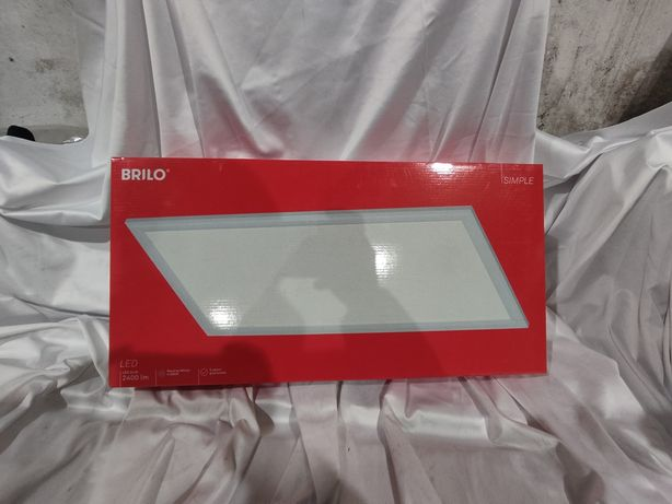 Lampa LED brilo, prostokątna sufitowa