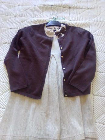 Vestido e casaco