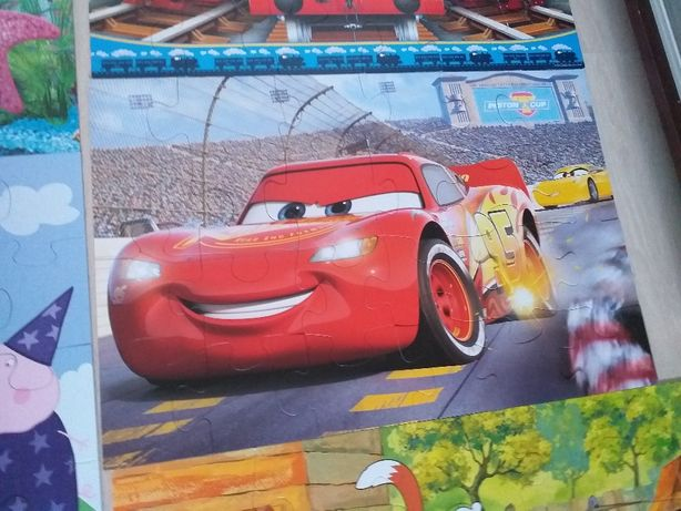 disney cars trefl puzzle 24 maxi mc queen