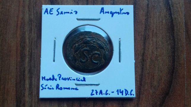 Moeda AE Semis de Augustus 27a.c. - 14d.c.