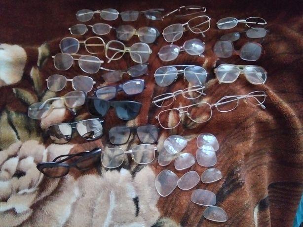 Okulary niekompletowane do przerobki