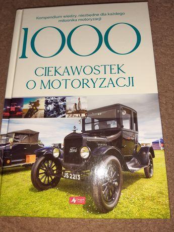 Książka 1000 ciekawostek o motoryzacji, nowa