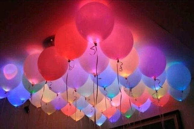 Balão com led