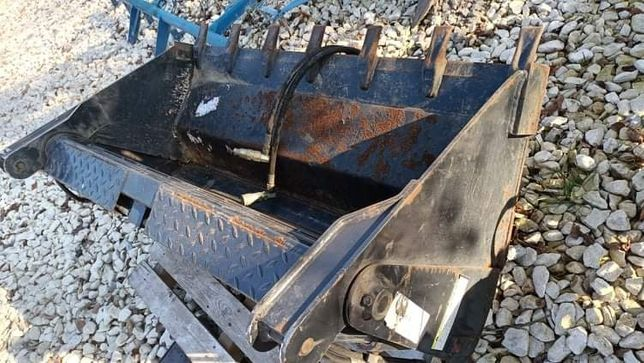 Bobcat łyżka otwierana hydrauliczna rekin krokodyl  miniładowarka