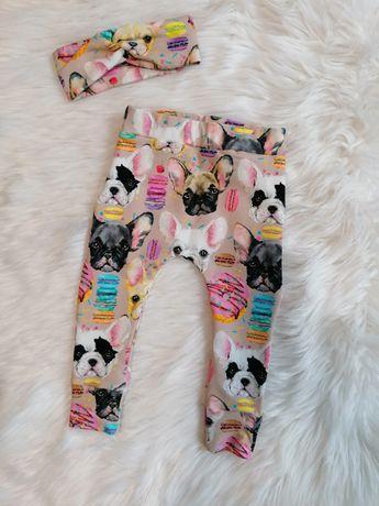 Spodnie handmade haremki