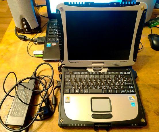 Захищений промисловий ноутбук Panasonic cf-19.