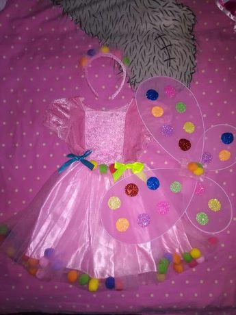 Детское праздничное платье Феи Fairy Dust