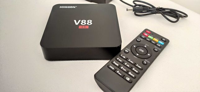 TV box 4K Android V88 SCISHION