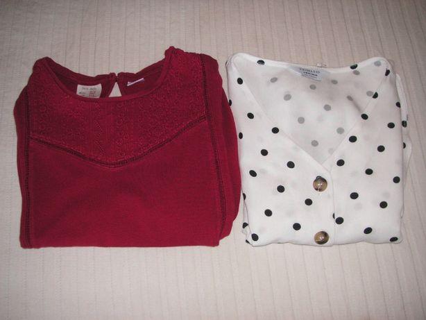 T Shirt / Túnica Zara e Blusa Primark