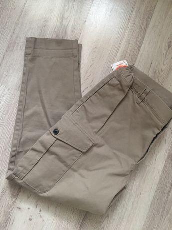 Spodnie męskie bojówki beżowe Selected Homme L