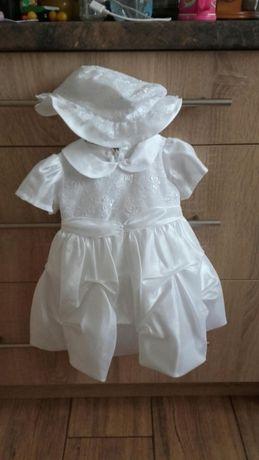 Sliczna sukienka do chrztu
