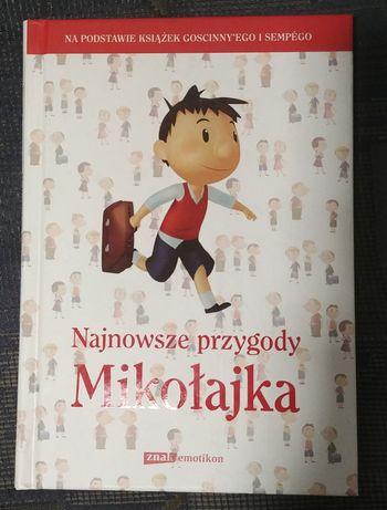 """Książka """"Najnowsze przygody Mikołajka"""""""