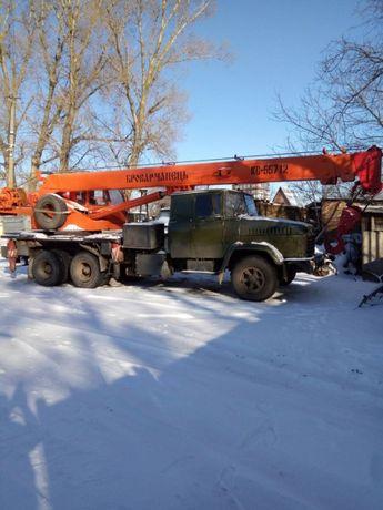 Услуги автокрана ГП 25 тонн; длинномеров; крана-манипулятора