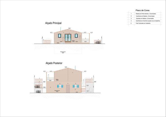 Projeto Aprovado - T2 com cave - Pinhal Conde da Cunha
