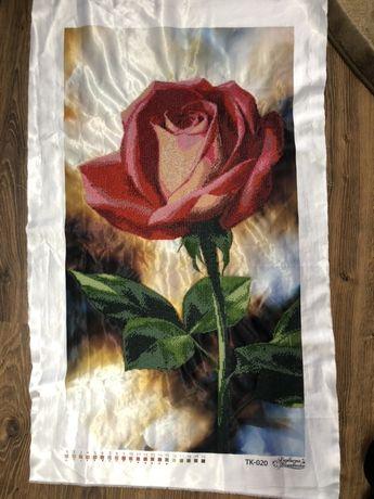 цветок бисером