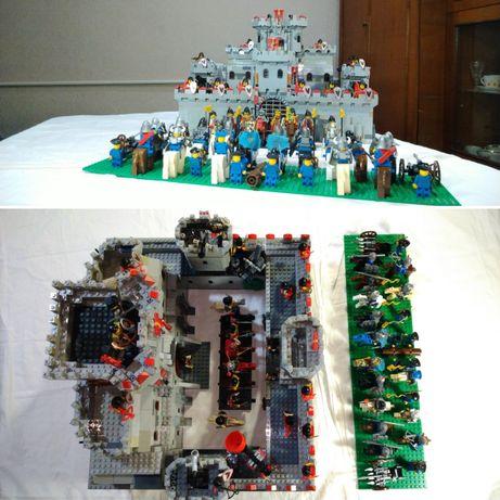 Конструктор самолелка большой замок lego castle