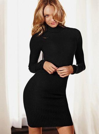 Вязаное платье в пайетках с сайта Victoria's Secret, размер S