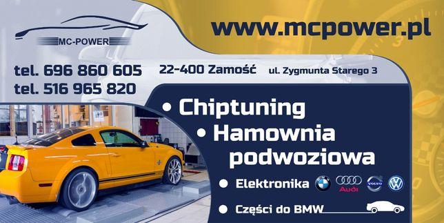 Chip-tuning Hamownia Serwis DPF/EGR/AdBlue Elektronika BMW kodowanie