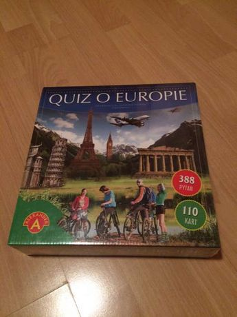 Quiz o Europie - Alexander - gra - oryginalnie zapakowana