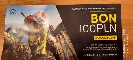 BON 100 PLN na zakupy w sklepach PolarSport