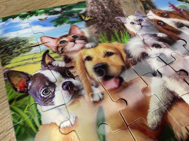 Пазл 3д 3D животные