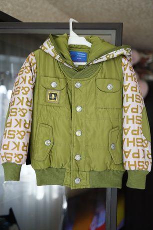 Детская куртка демисезонная на мальчика 2-3года 92раз. 500руб