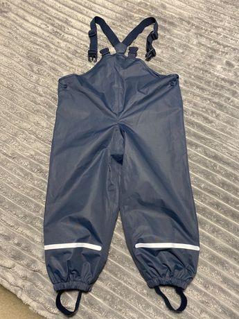 Spodnie przeciwdeszczowe chlopiece