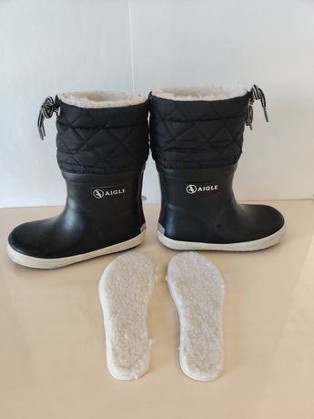 Сапожки, чобітки Aigle,  24 размер Франция