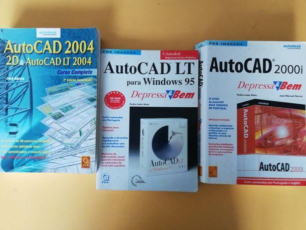 Livros Autocad e Excel