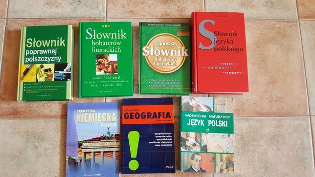 Język polski, niemiecki, geografia