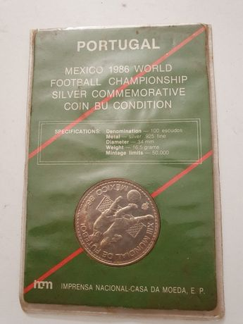 Moeda México 1986 world football championship