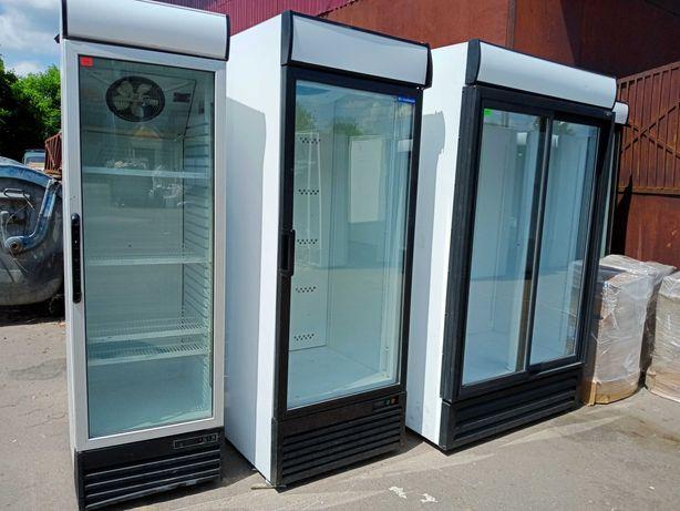 Шкафы холодильные витрины морозильные лари Б/У для воды, пива, цветов
