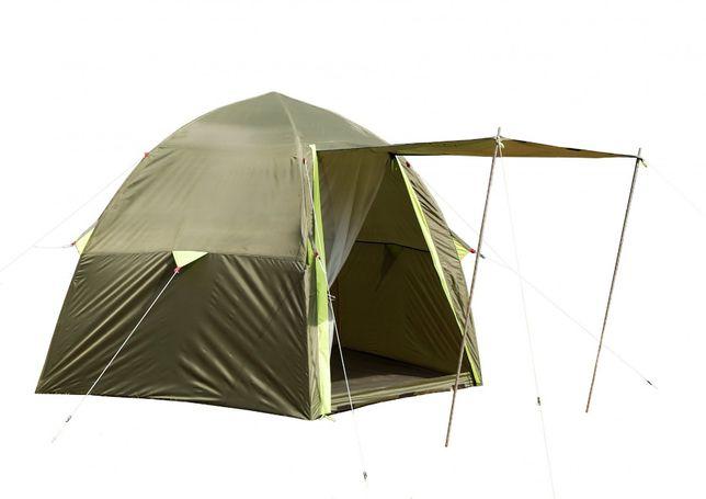 Летняя туристическая палатка карповая кемпинговая Лотос 3 Саммер Зонт