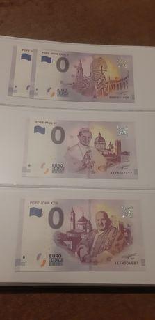 Banknot kolekcjonerski 0 euro, banknoty kolekcjonerskie