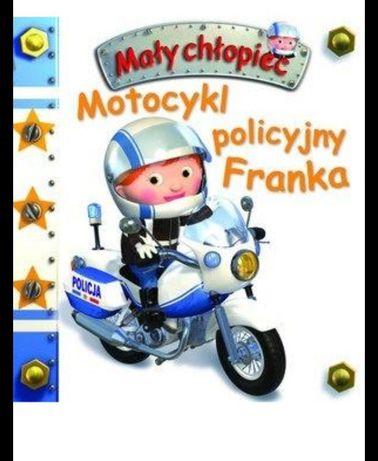 Motocykl policyjny Franka