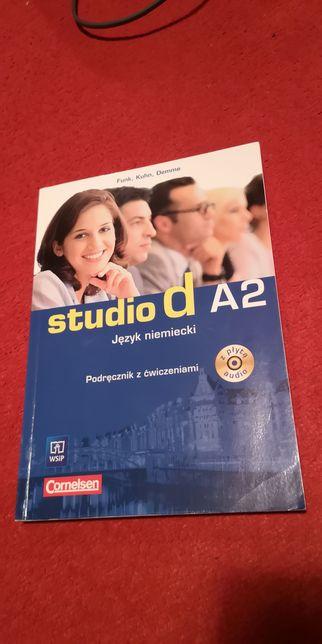 Studio d A2 podręcznik z cwiczeniam Cornelsen język niemiecki