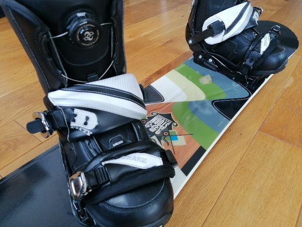 Deska snowboard Salomon Storm 154 plus buty HEAD Premium rozmiar 44