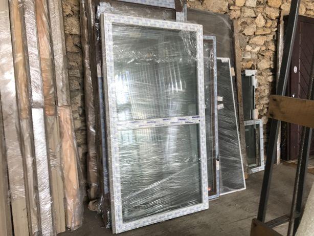 Окно ПВХ металлопластиковое, глухое, 6 камер, новое, 1780х950мм