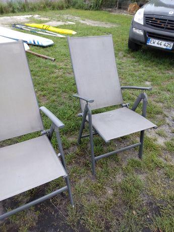 Krzesła leżaki ogrodowe turystyczne aluminiowe