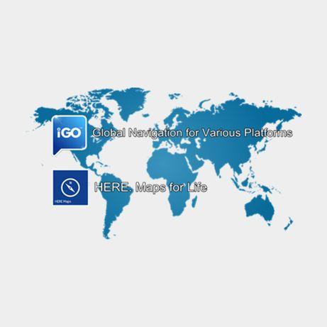 IGO Nawigacja 16GB karta Q4 2020 nowe mapy mapa ciezarowa BIŁGORAJ