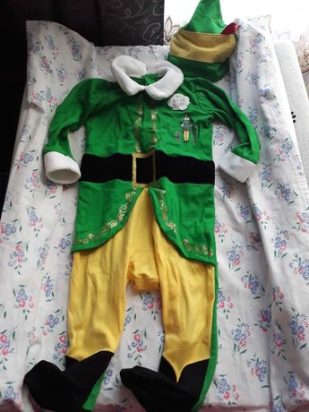 Новогодний костюм,костюм эльфа 80 см