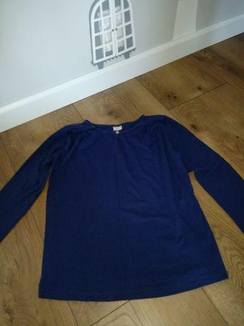Bluzka Zara Girls 13/14 lat 164 cm granatowa bawełniana