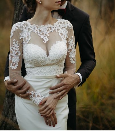 Piękna suknia ślubna Secret Angel model Fadwa warto