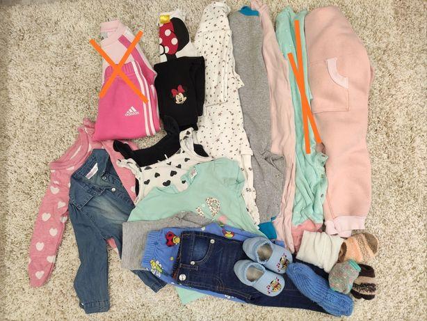 Пакет вещей для девочки 6-9 месяцев