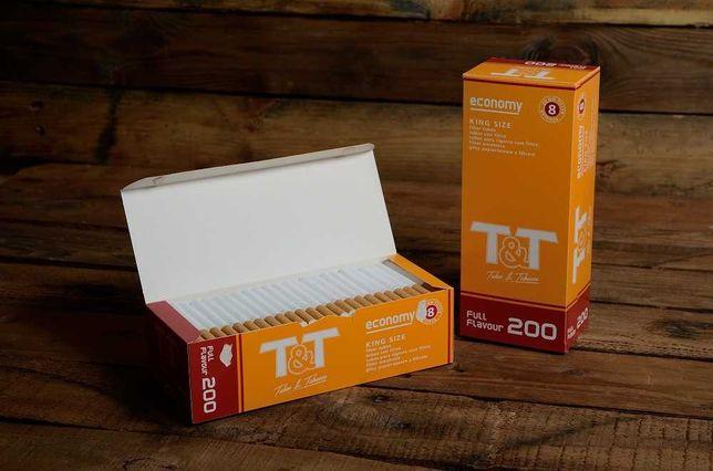 Сигаретные гильзы T&T.