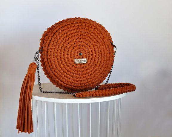 Round Bag S (Kolor limitowany), Rękodzieło marki Nawo Design