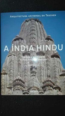 Livro/Álbum A Índia Hindu, Arquitetura Universal Taschen- Novo e Raro