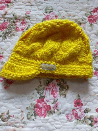 Dakine czapka żółta