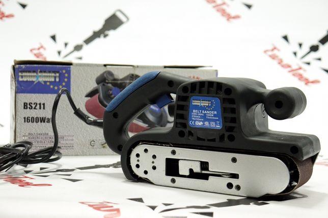 Ленточная шлифмашина Euro Craft BS211 1600 Вт Польша!УЦЕНКА!